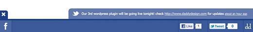 Скриншот плагина Social Toolbar